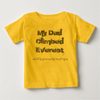 My Dad climbed Everest kids' T shirt