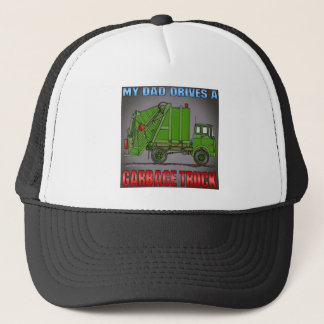 My Dad Drives A Garbage Truck Green Hat