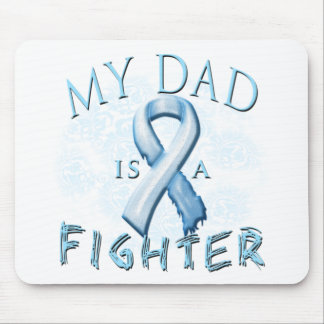 My Dad is a Fighter Light Blue Mouse Pad