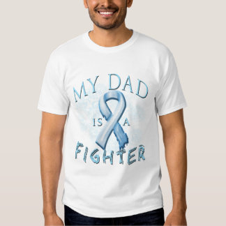 My Dad is a Fighter Light Blue Tee Shirt