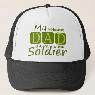 My Dad Is A Soldier Trucker Hat