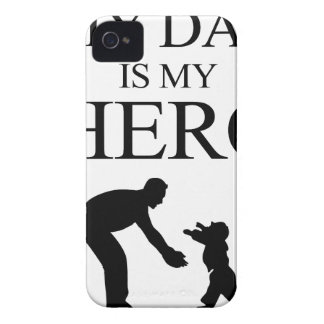 My Dad Is My Hero iPhone 4 Covers