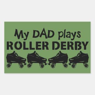 My Dad plays Roller Derby, Roller Skating