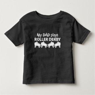 My Dad plays Roller Derby, Roller Skating Toddler T-shirt