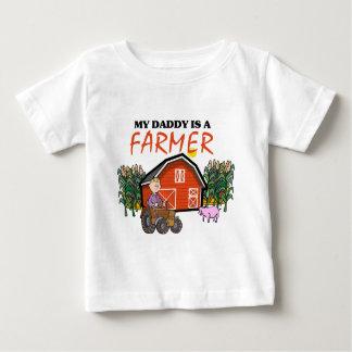 My Daddy Is A Farmer Baby T-Shirt