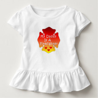 My Daddy Is A Firefighter Toddler T-shirt