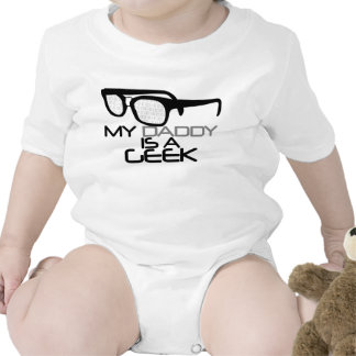 My Daddy is a Geek Rompers