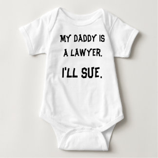 My Daddy is a Lawyer Baby Bodysuit