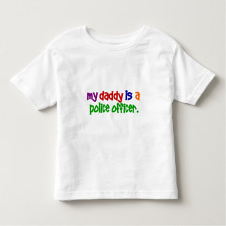 My Daddy Is A Police Officer 1 (Primary) T-shirts
