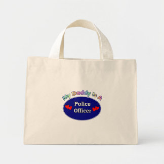 My Daddy Is A Police Officer Mini Tote Bag