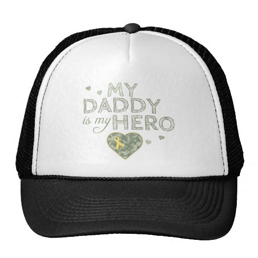 My Daddy is my Hero - Camo - Hat