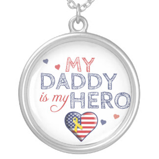 My Daddy is my Hero - USA - Necklace