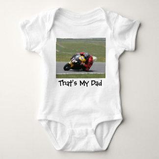 My Daddy Rides Baby Bodysuit