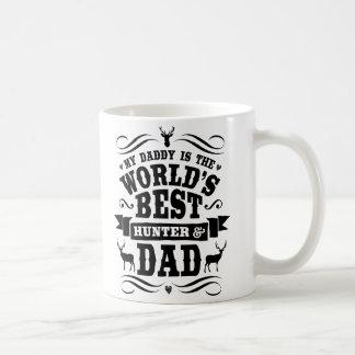 My Daddy World's Best Hunter & Dad Classic White Coffee Mug