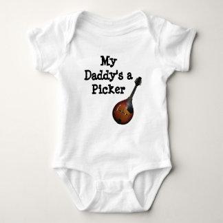 My Daddy's A Mandolin Picker Baby Bodysuit