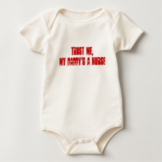 My Daddy's A Nurse Baby Bodysuit