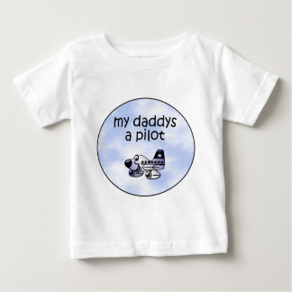 My Daddys A Pilot Baby T-Shirt