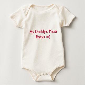 My Daddy's Pizza Rocks =) Baby Bodysuit