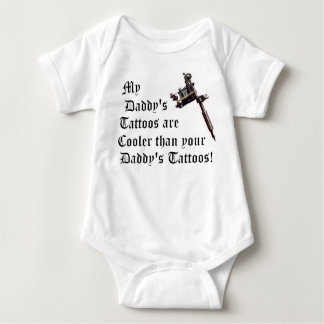 My Daddy's Tattoos T Shirts