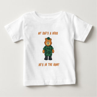 My Dad's A Hero Infant Shirt