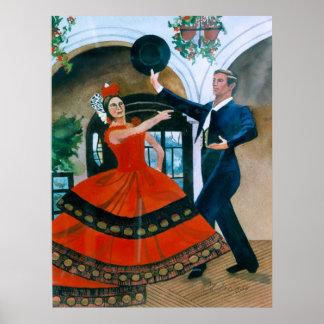My Dance (Flamenco) Poster