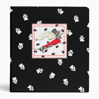 My Dapple Dachshund's Kitchen  Album 3 Ring Binder