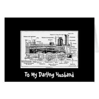 My Darling Husband Card