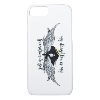 My Daughter is my Guardian Angel phone case
