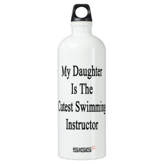 My Daughter Is The Cutest Swimming Instructor