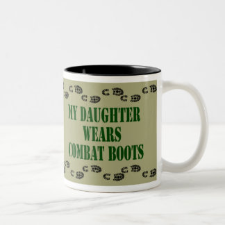 My Daughter Wears Combat Boots Mug