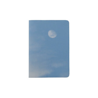 My Daytime Moon Passport Holder - Sturdy & Durable