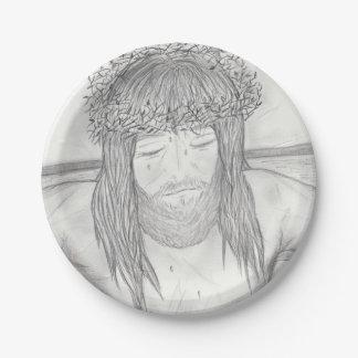 My Dear Lord Paper Plate