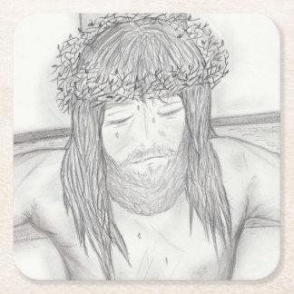 My Dear Lord Square Paper Coaster