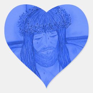 My Dear Lord V Heart Sticker