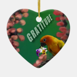 My deepest thanks to you. ceramic ornament