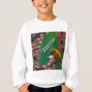 My deepest thanks to you. sweatshirt
