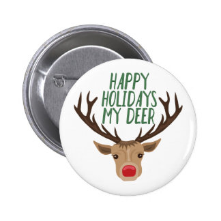 My Deer 2 Inch Round Button