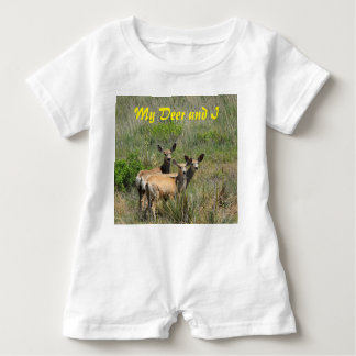 My Deer and I Baby Romper
