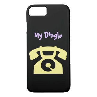 My Dingle Retro iPhone Case by RoseWrites