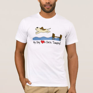 My Dog Loves Dock Jumping Tee Shirt