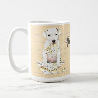 My Dogo Ate My Homework Coffee Mug