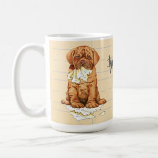 My Dogue de Bordeaux Ate my Homework Coffee Mug