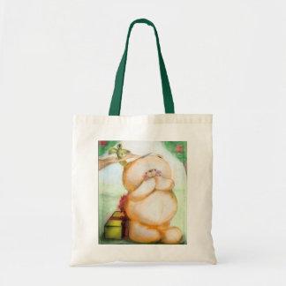 my drawing - bear tote bag