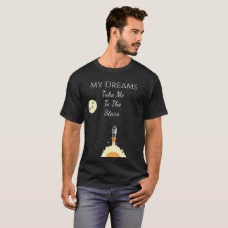 My Dreams Take Me To The Stars Rocket Shirt