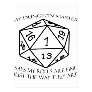 My Dungeon Master Postcard
