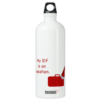My Elf is on vacation SIGG Traveler 1.0L Water Bottle