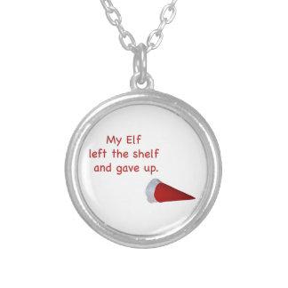 My Elf left the shelf and gave up Custom Jewelry