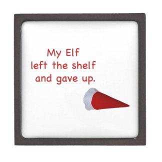 My Elf left the shelf and gave up Premium Jewelry Box