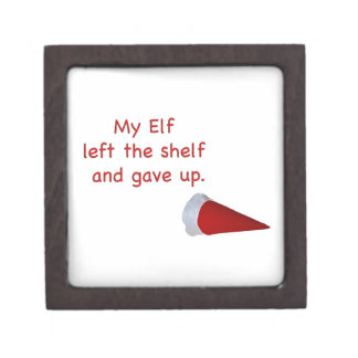 My Elf left the shelf and gave up Premium Jewelry Boxes