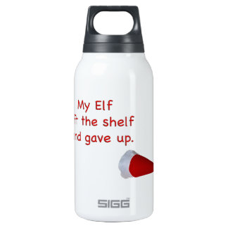 My Elf left the shelf and gave up SIGG Thermo 0.3L Insulated Bottle